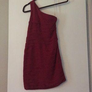Aqua Dresses - Aqua women's dress - one shoulder - XS